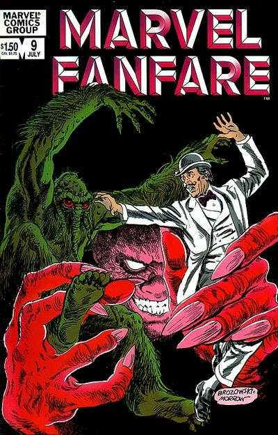 Marvel Fanfare #9 Comic Books - Covers, Scans, Photos  in Marvel Fanfare Comic Books - Covers, Scans, Gallery