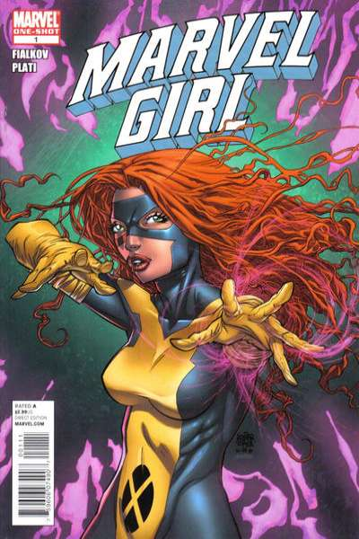 Marvel Girl comic books