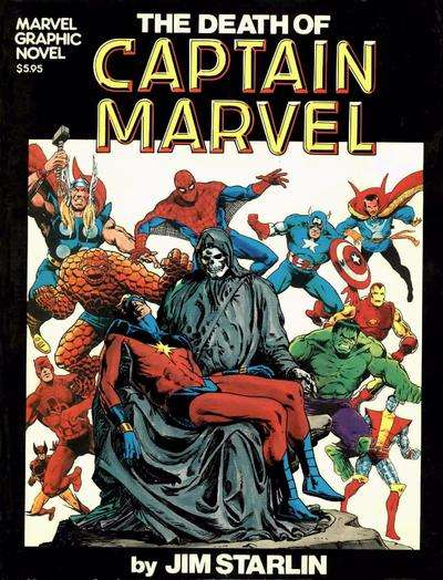 Marvel Graphic Novel comic books