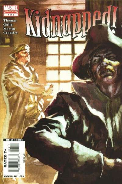 Marvel Illustrated: Kidnapped! #4 comic books - cover scans photos Marvel Illustrated: Kidnapped! #4 comic books - covers, picture gallery