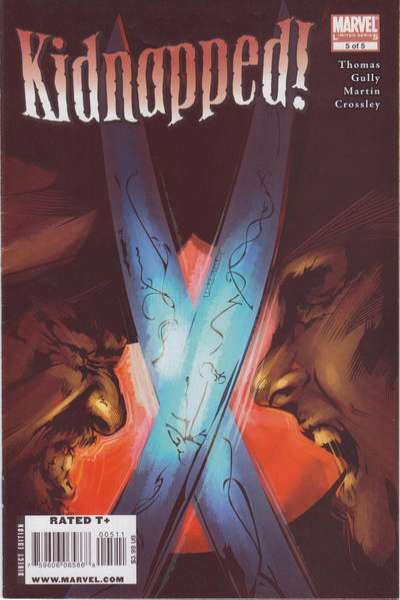 Marvel Illustrated: Kidnapped! #5 comic books - cover scans photos Marvel Illustrated: Kidnapped! #5 comic books - covers, picture gallery