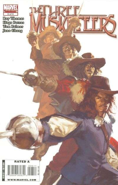Marvel Illustrated: The Three Musketeers #6 comic books for sale