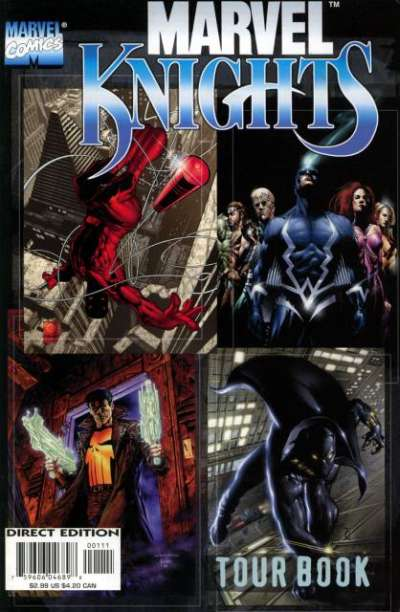Marvel Knights Tourbook #1 comic books - cover scans photos Marvel Knights Tourbook #1 comic books - covers, picture gallery