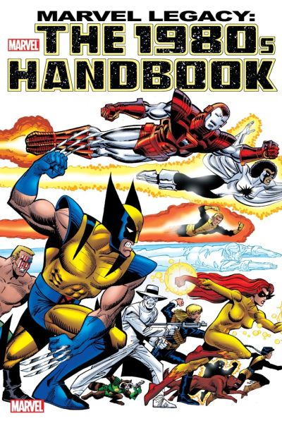 Marvel Legacy: 1980s Handbook comic books