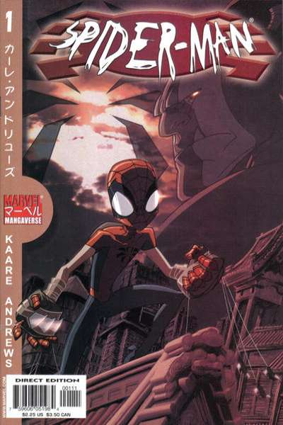 Marvel Mangaverse: Spider-Man #1 comic books for sale