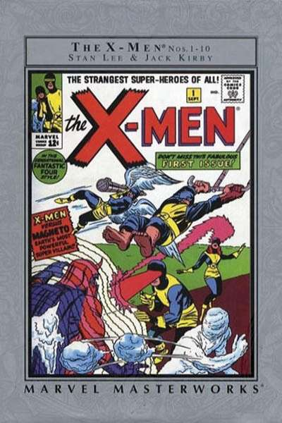 Marvel Masterworks: The X-Men - Hardcover #1 Comic Books - Covers, Scans, Photos  in Marvel Masterworks: The X-Men - Hardcover Comic Books - Covers, Scans, Gallery