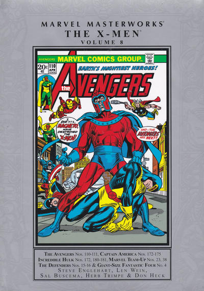 Marvel Masterworks: The X-Men - Hardcover #8 Comic Books - Covers, Scans, Photos  in Marvel Masterworks: The X-Men - Hardcover Comic Books - Covers, Scans, Gallery