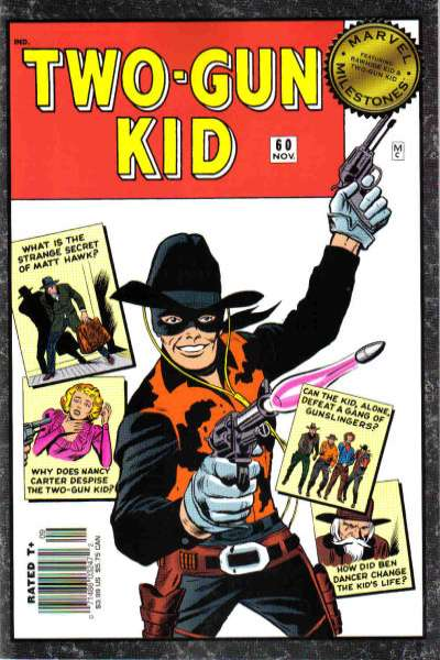 Marvel Milestones: Two-Gun Kid #1 comic books - cover scans photos Marvel Milestones: Two-Gun Kid #1 comic books - covers, picture gallery