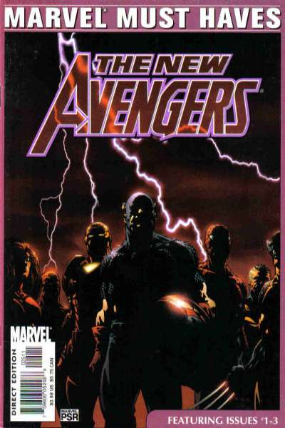 Marvel Must Haves: New Avengers #1 comic books - cover scans photos Marvel Must Haves: New Avengers #1 comic books - covers, picture gallery