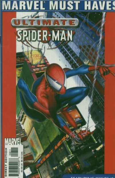 Marvel Must Haves: Ultimate Spider-Man #1 comic books - cover scans photos Marvel Must Haves: Ultimate Spider-Man #1 comic books - covers, picture gallery