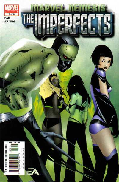 Marvel Nemesis: The Imperfects #2 comic books - cover scans photos Marvel Nemesis: The Imperfects #2 comic books - covers, picture gallery