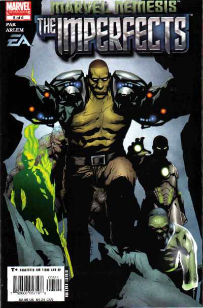 Marvel Nemesis: The Imperfects #5 Comic Books - Covers, Scans, Photos  in Marvel Nemesis: The Imperfects Comic Books - Covers, Scans, Gallery
