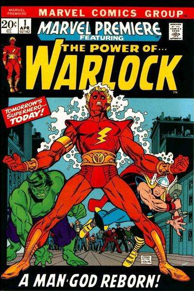 Marvel Premiere comic books