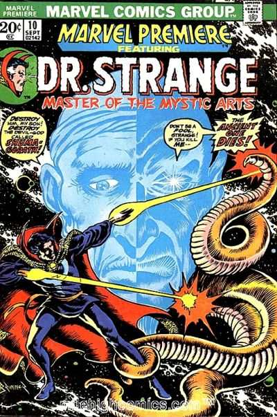 Marvel Premiere #10 Comic Books - Covers, Scans, Photos  in Marvel Premiere Comic Books - Covers, Scans, Gallery