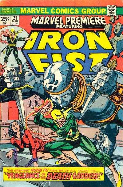 Marvel Premiere #21 Comic Books - Covers, Scans, Photos  in Marvel Premiere Comic Books - Covers, Scans, Gallery