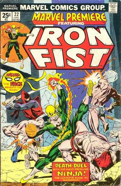Marvel Premiere #22 comic books - cover scans photos Marvel Premiere #22 comic books - covers, picture gallery