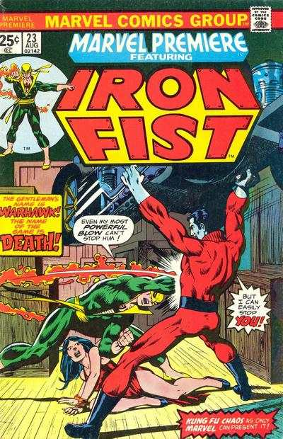 Marvel Premiere #23 comic books - cover scans photos Marvel Premiere #23 comic books - covers, picture gallery