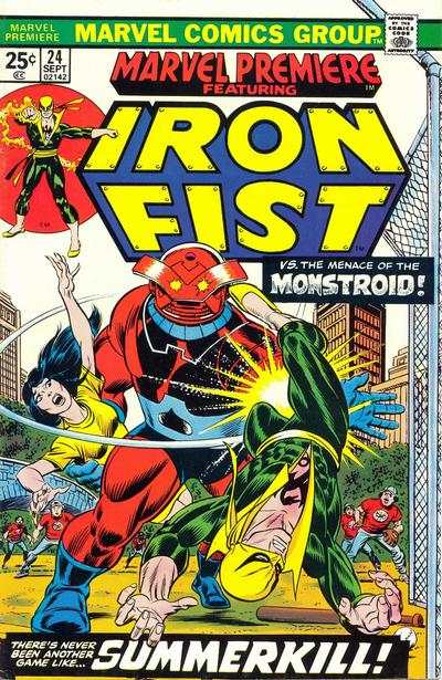 Marvel Premiere #24 Comic Books - Covers, Scans, Photos  in Marvel Premiere Comic Books - Covers, Scans, Gallery
