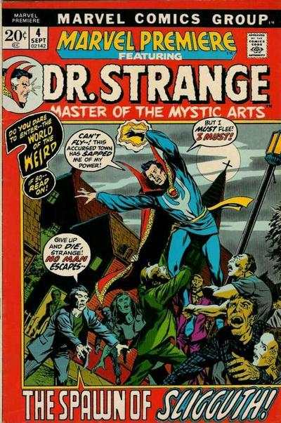 Marvel Premiere #4 Comic Books - Covers, Scans, Photos  in Marvel Premiere Comic Books - Covers, Scans, Gallery