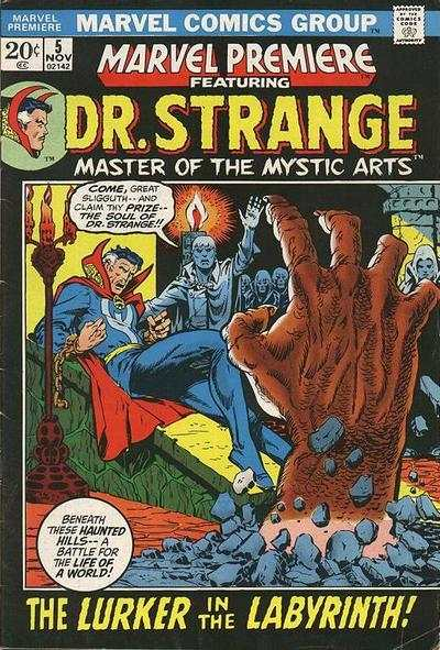 Marvel Premiere #5 Comic Books - Covers, Scans, Photos  in Marvel Premiere Comic Books - Covers, Scans, Gallery