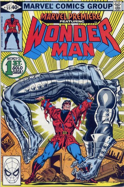 Marvel Premiere #55 Comic Books - Covers, Scans, Photos  in Marvel Premiere Comic Books - Covers, Scans, Gallery