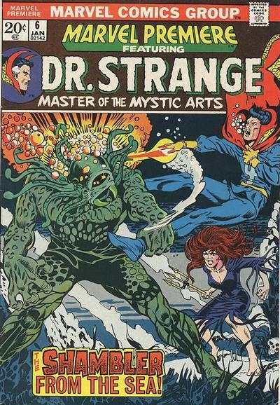Marvel Premiere #6 Comic Books - Covers, Scans, Photos  in Marvel Premiere Comic Books - Covers, Scans, Gallery