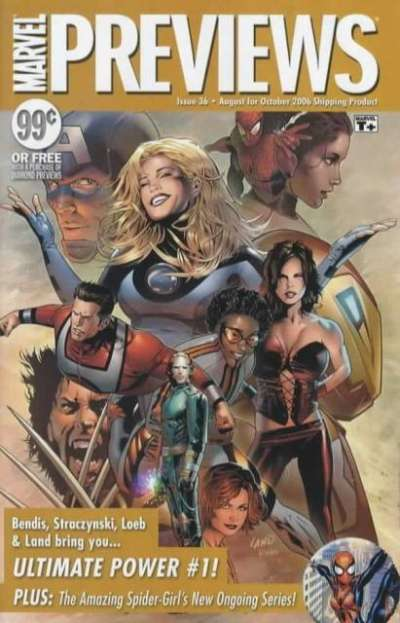 Marvel Previews #36 comic books for sale