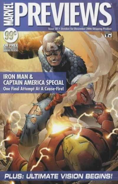 Marvel Previews #38 comic books for sale