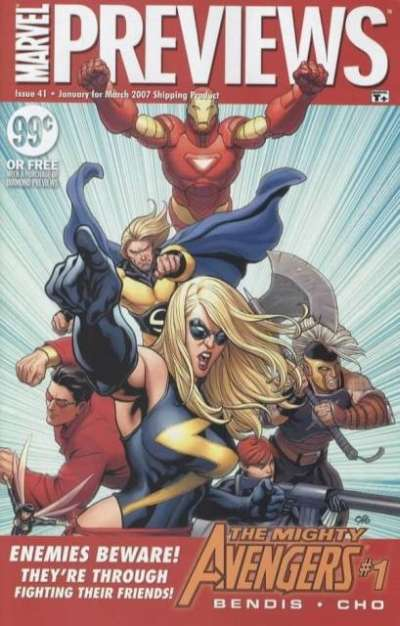 Marvel Previews #41 comic books for sale