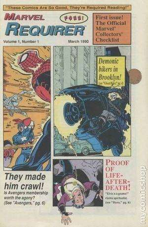 Marvel Requirer comic books