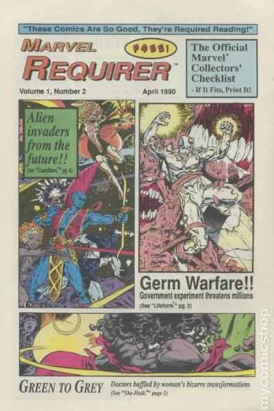Marvel Requirer #2 comic books for sale