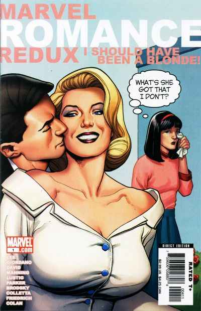 Marvel Romance Redux: I Should Have Been a Blonde #1 comic books - cover scans photos Marvel Romance Redux: I Should Have Been a Blonde #1 comic books - covers, picture gallery