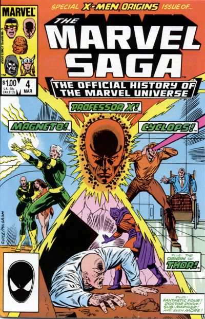 Marvel Saga #4 comic books - cover scans photos Marvel Saga #4 comic books - covers, picture gallery