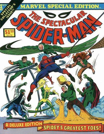 Marvel Special Edition Featuring the Spectacular Spider-Man comic books