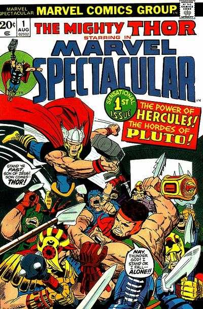 Marvel Spectacular comic books