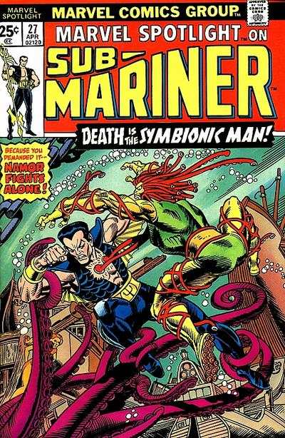 Marvel Spotlight #27 Comic Books - Covers, Scans, Photos  in Marvel Spotlight Comic Books - Covers, Scans, Gallery