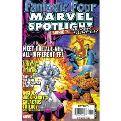 Marvel Spotlight: Fantastic Four and Silver Surfer #1 comic books for sale