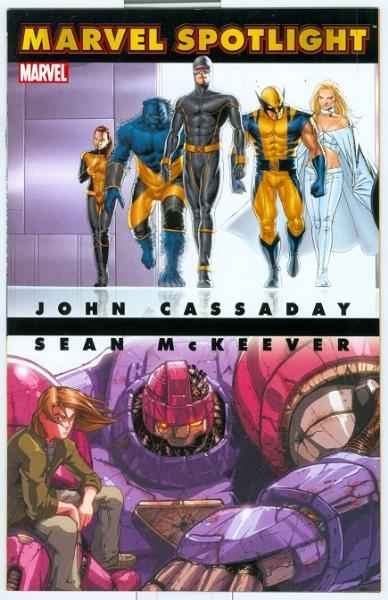 Marvel Spotlight: John Cassady/Sean McKeever #1 comic books - cover scans photos Marvel Spotlight: John Cassady/Sean McKeever #1 comic books - covers, picture gallery