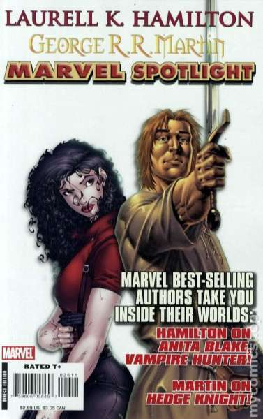 Marvel Spotlight: Laurell K. Hamilton/George R. Martin Comic Books. Marvel Spotlight: Laurell K. Hamilton/George R. Martin Comics.