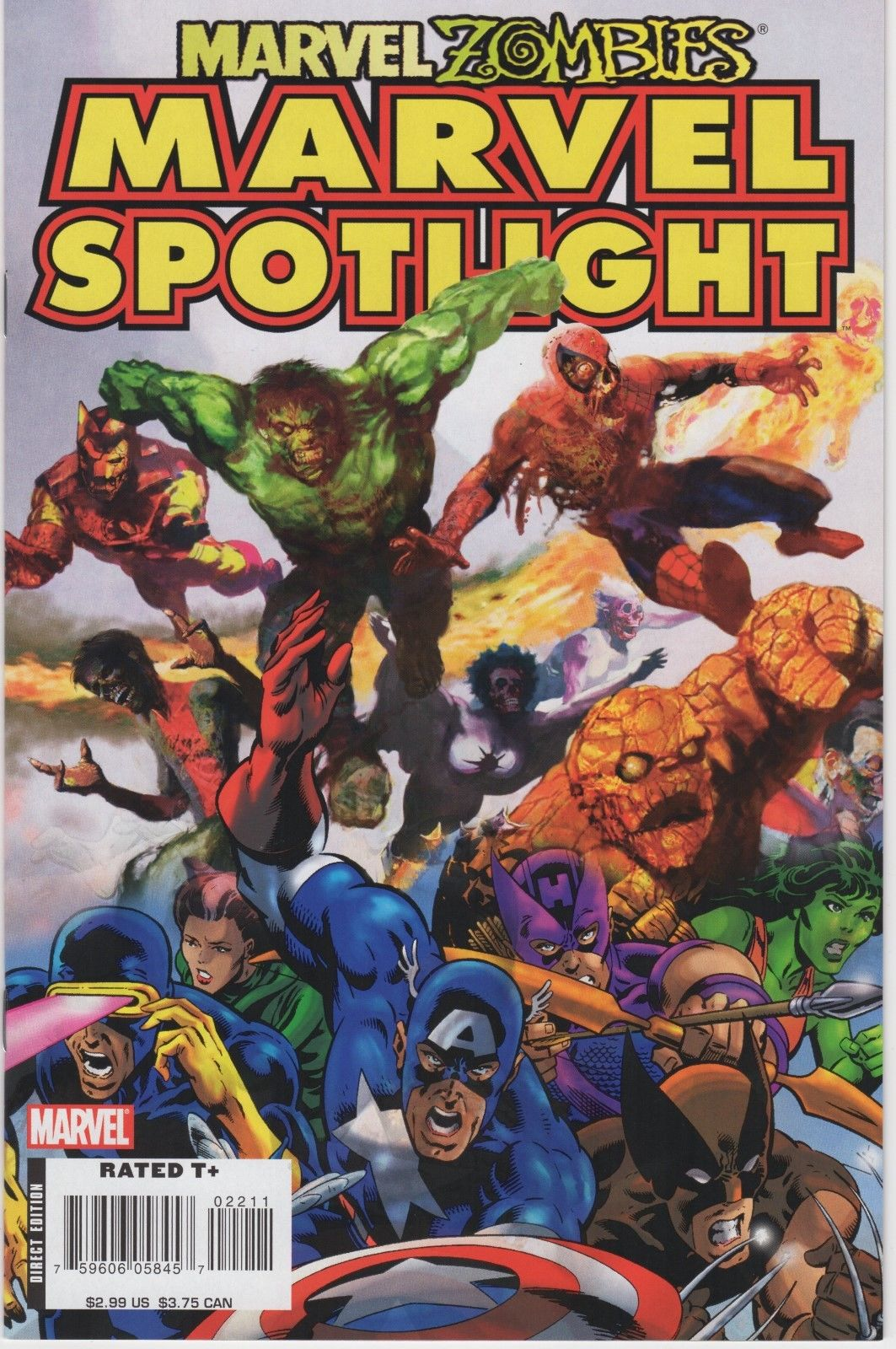 Marvel Spotlight: Marvel Zombies/Mystic Arcana comic books