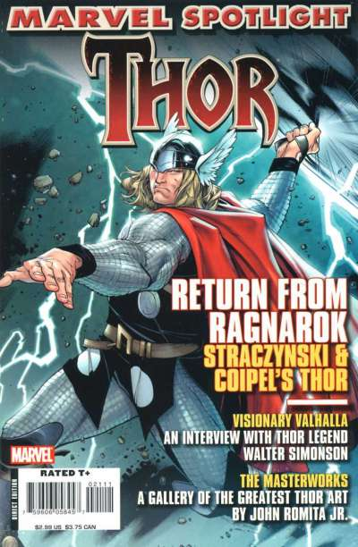 Marvel Spotlight: Thor Comic Books. Marvel Spotlight: Thor Comics.