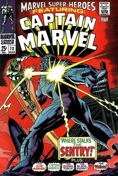 Marvel Super-Heroes #13 Comic Books - Covers, Scans, Photos  in Marvel Super-Heroes Comic Books - Covers, Scans, Gallery