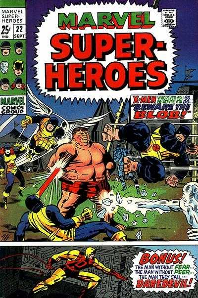 Marvel Super-Heroes #22 comic books - cover scans photos Marvel Super-Heroes #22 comic books - covers, picture gallery