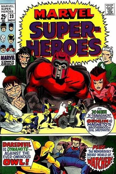 Marvel Super-Heroes #23 comic books - cover scans photos Marvel Super-Heroes #23 comic books - covers, picture gallery