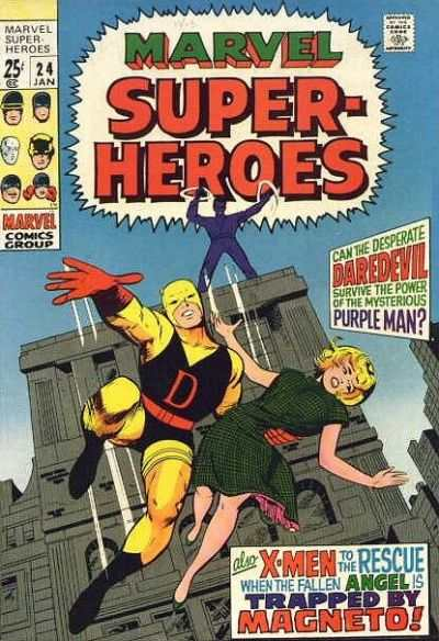 Marvel Super-Heroes #24 comic books - cover scans photos Marvel Super-Heroes #24 comic books - covers, picture gallery