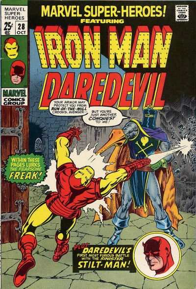 Marvel Super-Heroes #28 Comic Books - Covers, Scans, Photos  in Marvel Super-Heroes Comic Books - Covers, Scans, Gallery