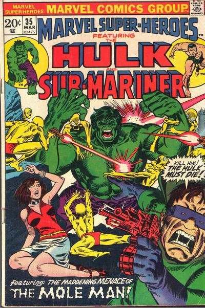 Marvel Super-Heroes #35 Comic Books - Covers, Scans, Photos  in Marvel Super-Heroes Comic Books - Covers, Scans, Gallery