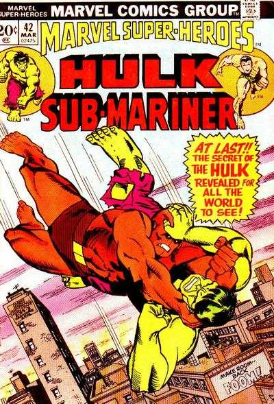 Marvel Super-Heroes #42 Comic Books - Covers, Scans, Photos  in Marvel Super-Heroes Comic Books - Covers, Scans, Gallery