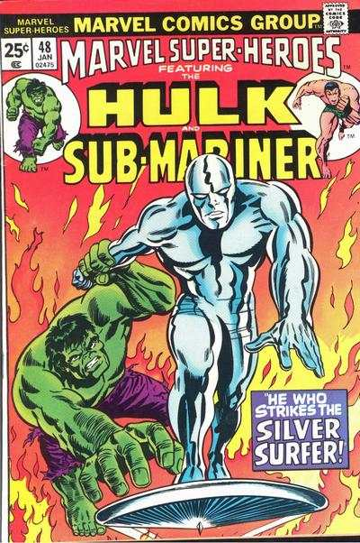 Marvel Super-Heroes #48 Comic Books - Covers, Scans, Photos  in Marvel Super-Heroes Comic Books - Covers, Scans, Gallery