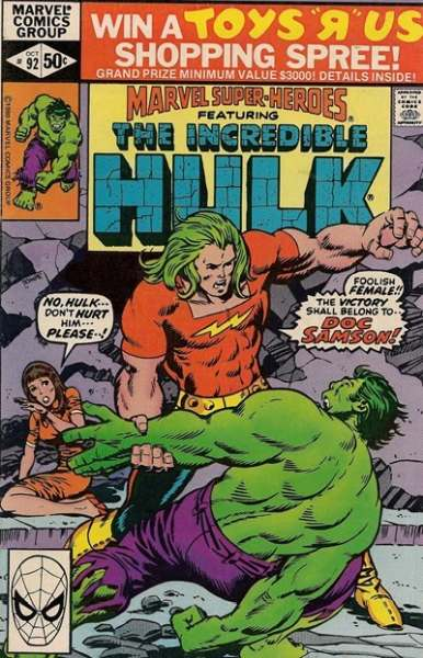 Marvel Super-Heroes #92 Comic Books - Covers, Scans, Photos  in Marvel Super-Heroes Comic Books - Covers, Scans, Gallery